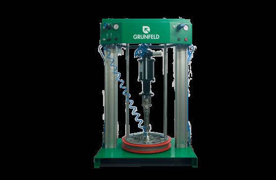 pump for methacrylate adhesive dispense